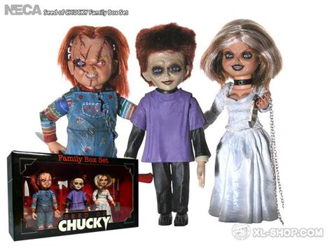 ted doll in a box neca seed of chucky family box set