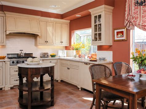 terracotta color scheme kitchen d s bold colors mediterranean kitchen san francisco
