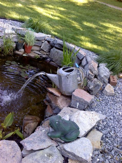 backyard pond fountains 98 best images about outdoor ponds waterfalls on