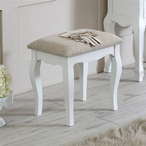 Stool Dressing Table by Dressing Table Padded Stool Lila Range Melody Maison 174