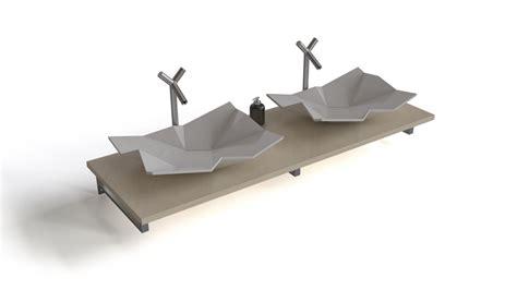 Origami Sink - origami washbasin flyingarchitecture