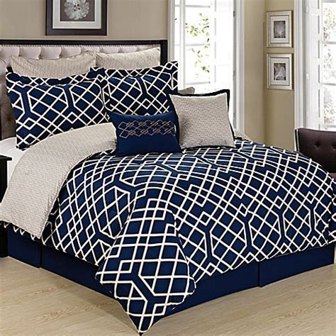 cream comforter twin buy cathay home demetri 8 piece reversible twin comforter