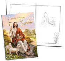 catholic easter card template direct from lourdes catholic gifts