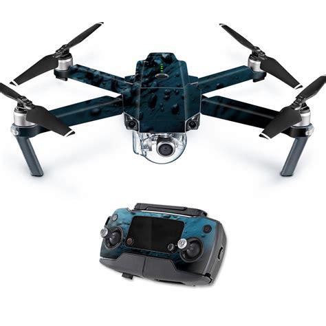 Stiker Skin Sticker Decal Dji Mavic Pro Blue Brushed Anodized skin decal wrap for dji mavic pro quadcopter drone cover