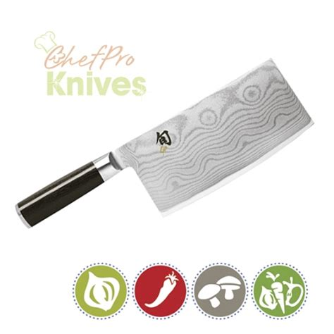 shun cleaver shun classic vegetable cleaver 7 quot dm0712