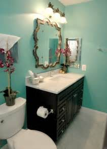 turquoise guest bathroom eclectic bathroom other