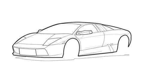 Lamborghini Outline Lamborghini Outline By Supernova7 On Deviantart