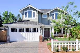 Exterior Garage Door Sweet Exterior Color Ideas For Homes With Colorful Palette