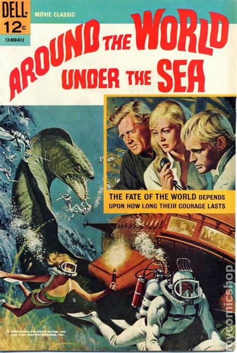 film with cartoon books around the world under the sea 1966 movie classics comic