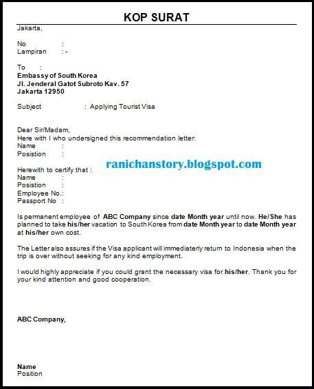 20 contoh surat keterangan kerja untuk berbagai keperluan