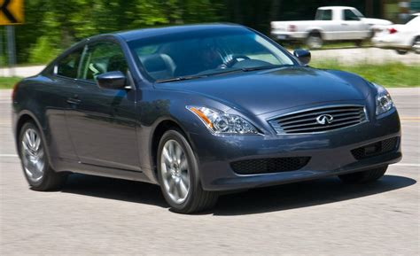 infiniti coupe 2009 car and driver