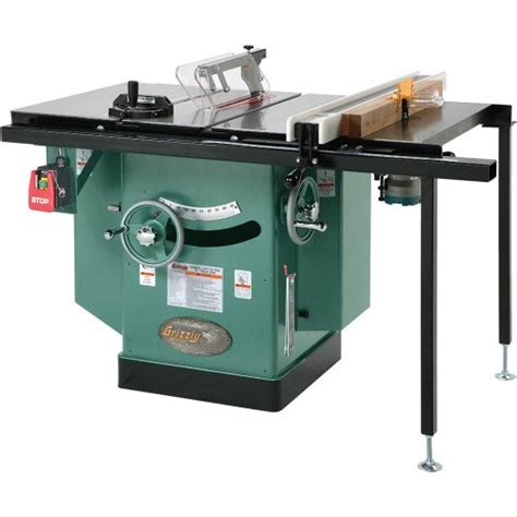 10 Inch Table L by Grizzly G1023rlwx Cabinet Left Tilting Table Saw 10 Inch