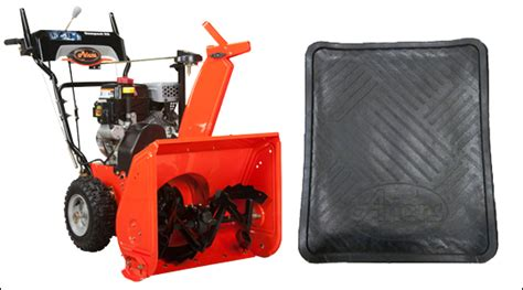 Snowblower Mat by Accessories Your Snow Blower Can T Live Without Snowblowersatjacks