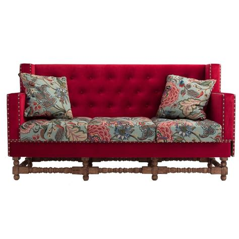 divani vintage sof 224 divano vintage capitonn 232 rosso divani e poltrone