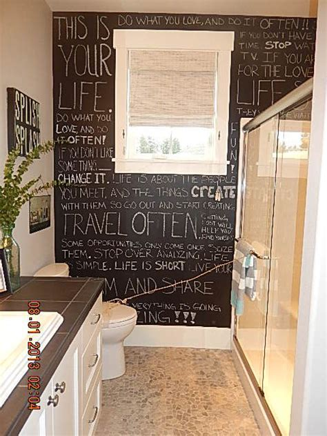 chalkboard paint ideas for bathroom 120 best images about chalkboard on