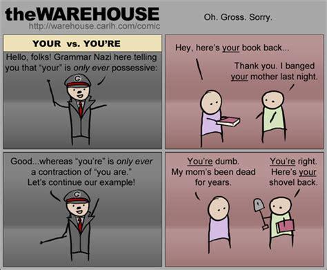 grammar your vs you re threadbombing