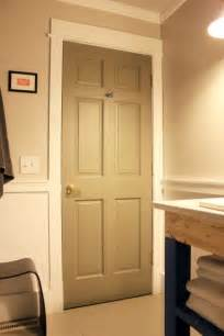 Painting Doors And Trim Different Colors Main Bathroom Painted Door Closed Home Decor Pinterest