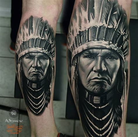 indian head tattoo designs 34 awesome indian tattoos