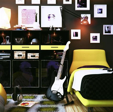 teen boy room decor teenage music room ideas