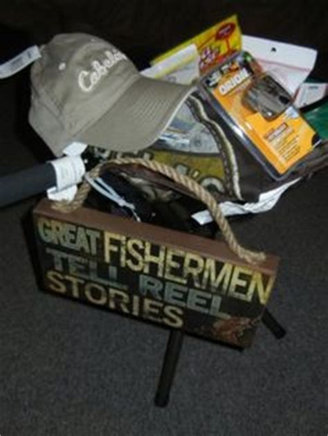 fisherman gifts on pinterest fishing gift baskets
