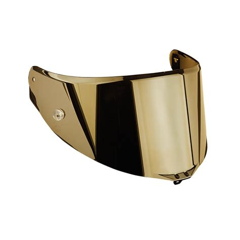 Helm Agv Visor Visor Race 2 Antiscratch Iridium Gold For Agv Helmets