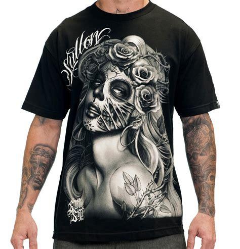 shop tattooed hoodies u0026 sweatshirts querida muerta mens clothing sullen