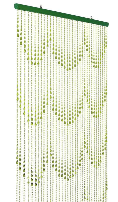 beaded curtains iridescent lime green raindrop beaded curtain that
