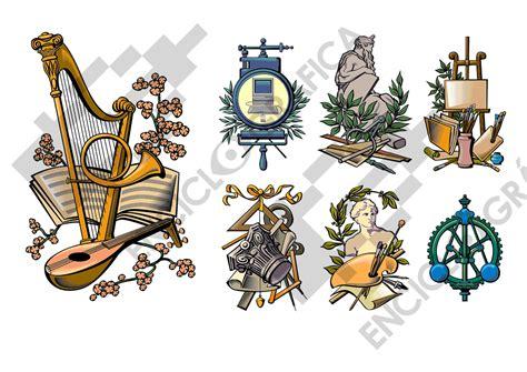 imagenes y simbolos en las artes siete alegor 237 as de las artes