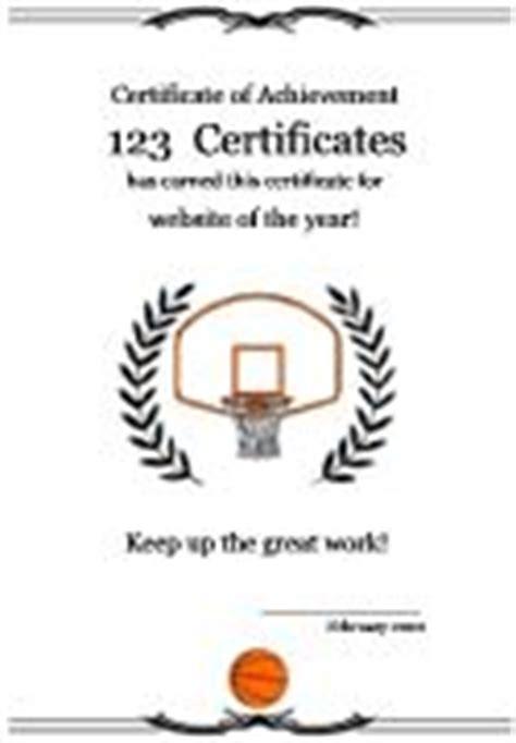 Similiar Upward Basketball Award Certificates Keywords