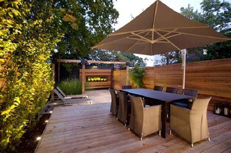 Patio Equipment by Deck Umbrellas For Comfortable Outdoor Entertaining