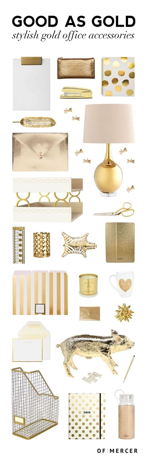office desk decoration items 25 best ideas about gold desk accessories on