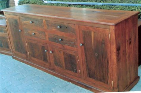 Sleeper Wood by Sleeper Sideboard Drawer Warrior Wooden Furniture
