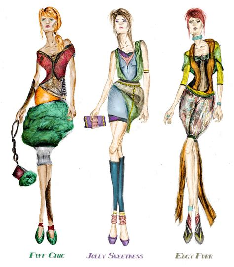 Dress Serli Elegan fashion sketches collection by elegance2255 on deviantart