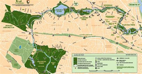 boston s emerald necklace frederick olmsted