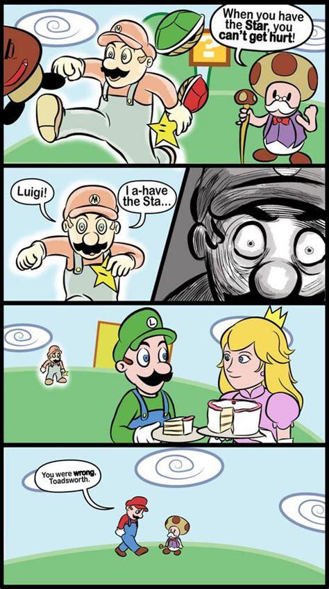 Mario Bros Frustration Unites Profanity And Gaming by Lolz Curse U Triangles Mario Bizarrely In