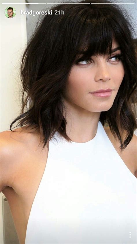 17 best ideas about short hairstyles with bangs on 25 best ideas about medium choppy haircuts on pinterest