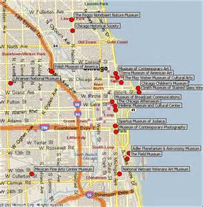 Chicago Museums Map by Chicago Museums Map