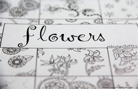 doodle god how to create flower living creatively flower doodles