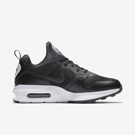 nike mens air max prime shoes black white fitnessnuts