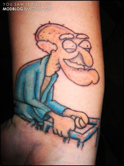 tattoo higgins family guy quot you like popsicles quot bme tattoo piercing and body