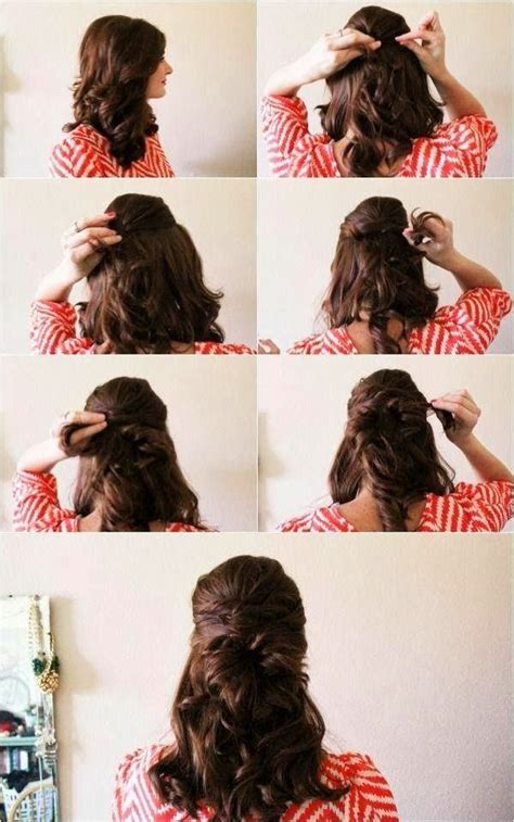 diy curly hairstyles for medium hair 101 easy diy hairstyles for medium and long hair to snatch