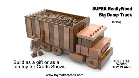 wood toy plans table  big dump truck youtube