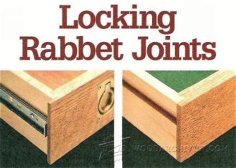 drawer lock joint jig woodarchivist