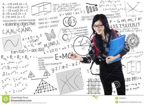 whiteboard math stock photos whiteboard student writes formula on whiteboard stock image image 42685827