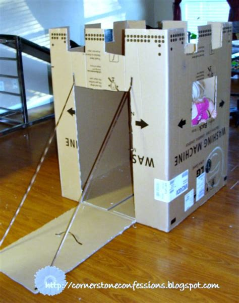 How To Make A Paper Fort - best 25 cardboard box fort ideas on cardboard