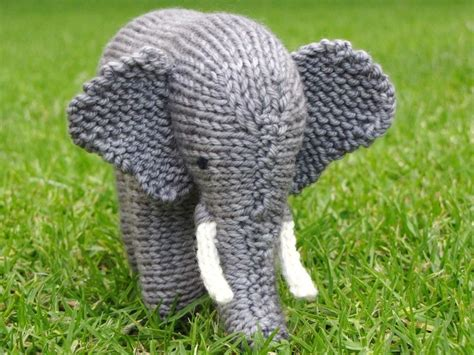 Animal Pattern Baby Name elephant pattern tuskud 253 r knitting patterns knitting