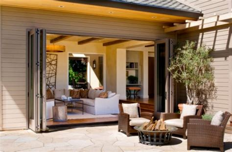 Room With Patio Open Up Your Living Room With Folding Patio Doors