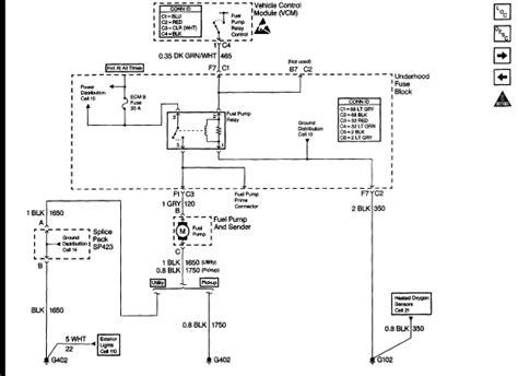 1998 chevrolet 1500 fuel wiring diagram autos post