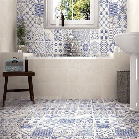 Bathroom Floor And Wall Tile Ideas by Best 25 Blue Bathroom Tiles Ideas On Modern