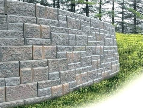 Building A Garden Wall With Concrete Blocks Garden Wall Materials